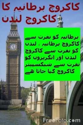 London --- کاکروچ برطانیہ کا کاکروچ لندن